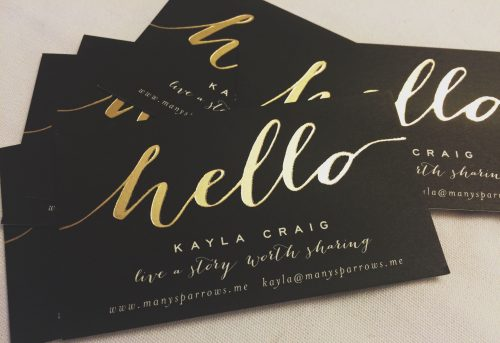 foiling-business-card-printing-weymouth